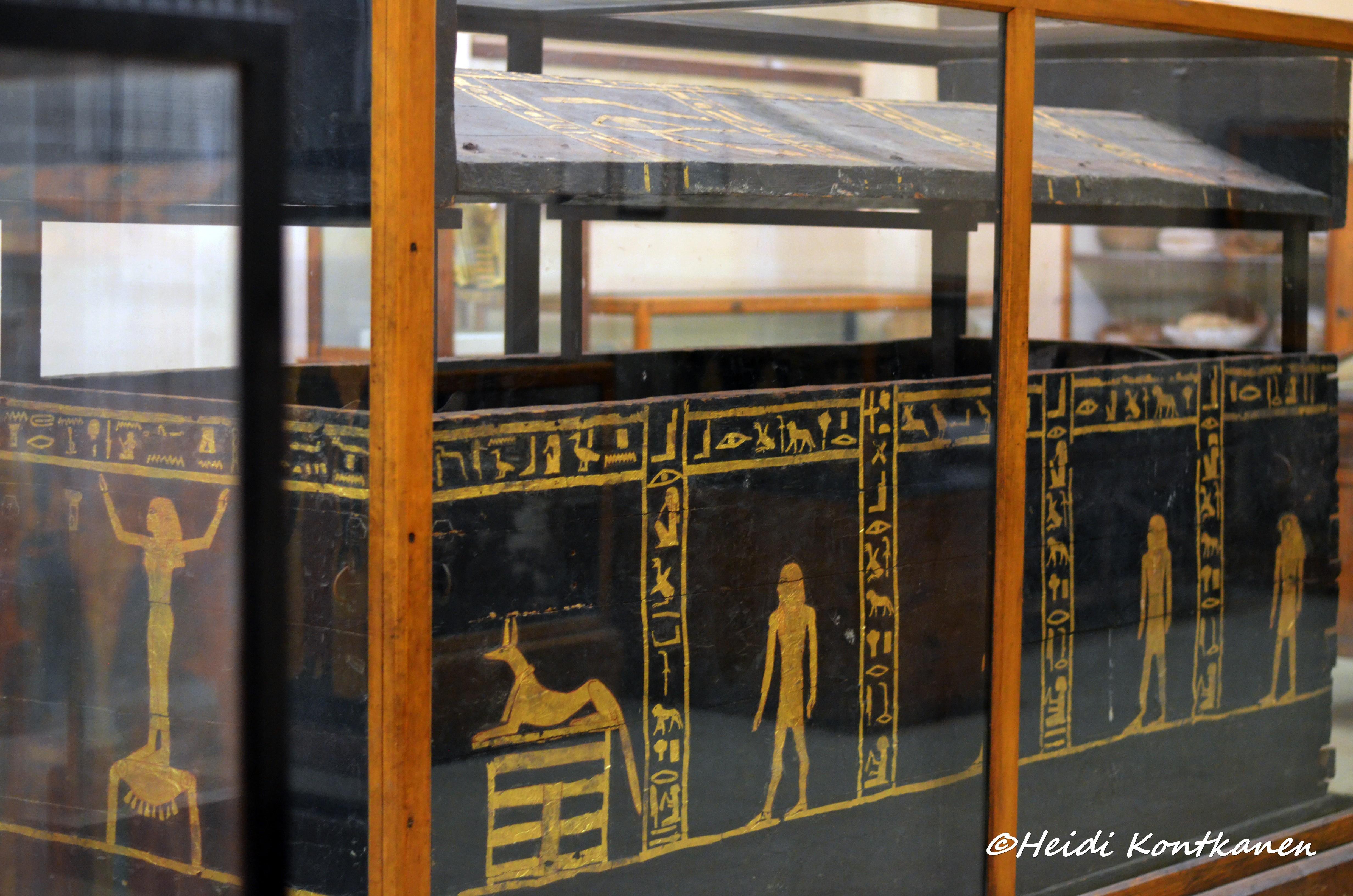 Rectangular sarcophagus