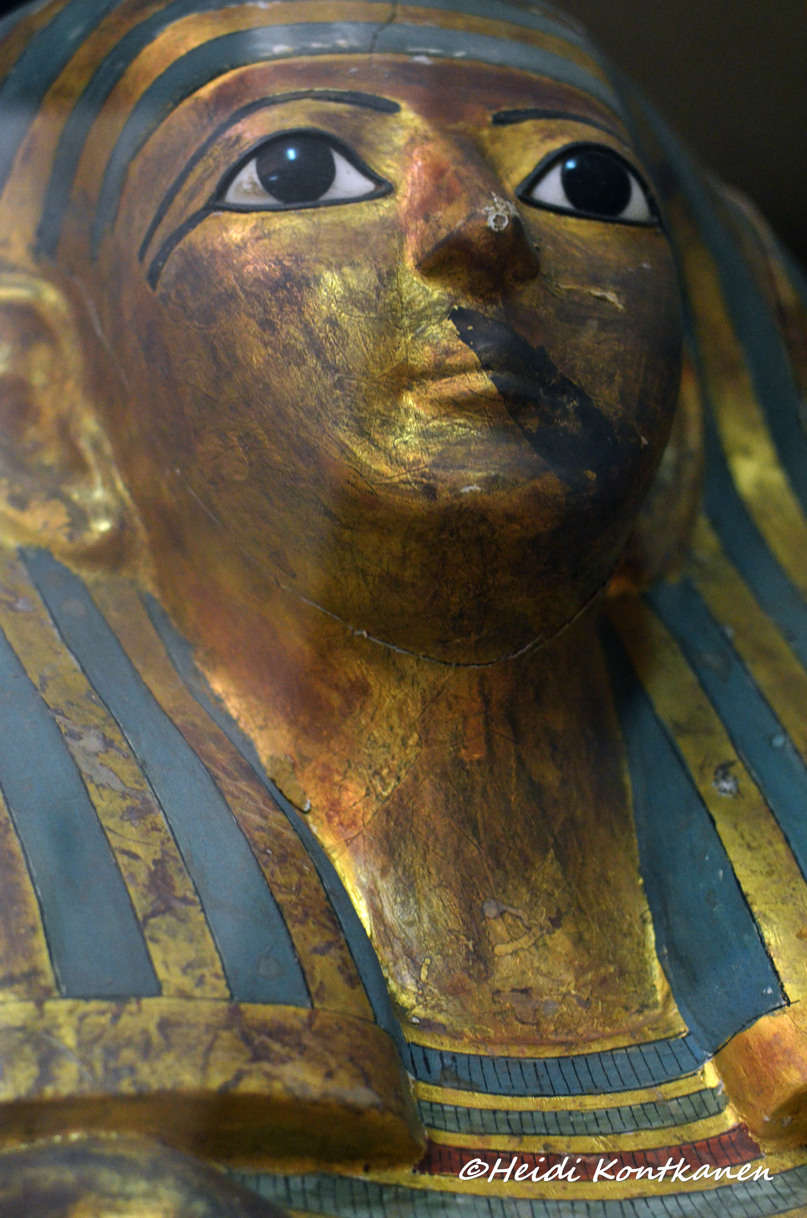 Face of Middle Unused coffin